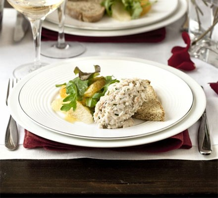 Crab & citrus salad with Chardonnay dressing