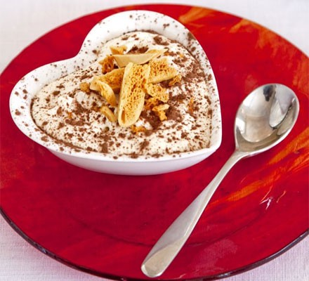 Tiramisu with honeycomb crunch