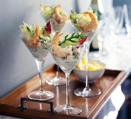 Prawn & fennel cocktail