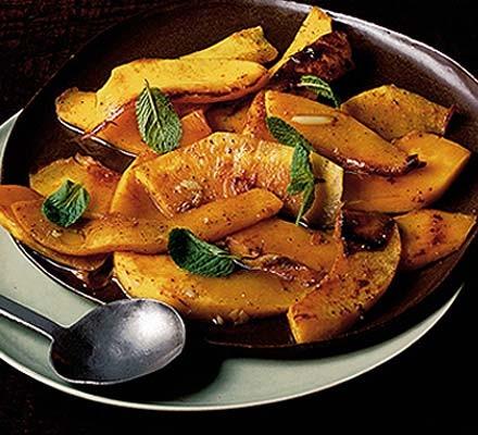 Sicilian spicy pumpkin