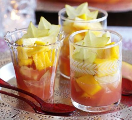 Tropical punch cups