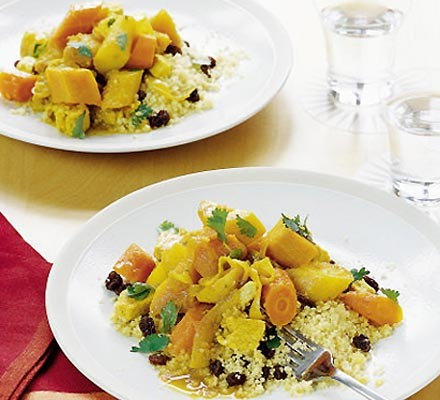 Mixed vegetable tagine