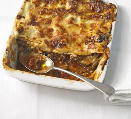 Fuss-free lasagne