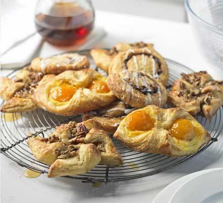 Danish Pastries Recipe Bbc Good Food