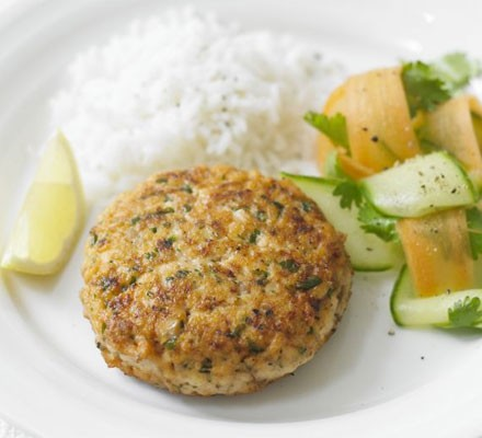 Superhealthy salmon burgers