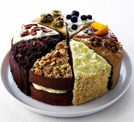 Orange & rosemary drizzle cake