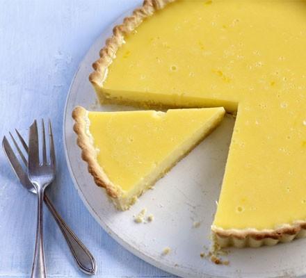Gregg's tangy lemon tart