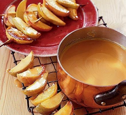 Warm butterscotch dippers