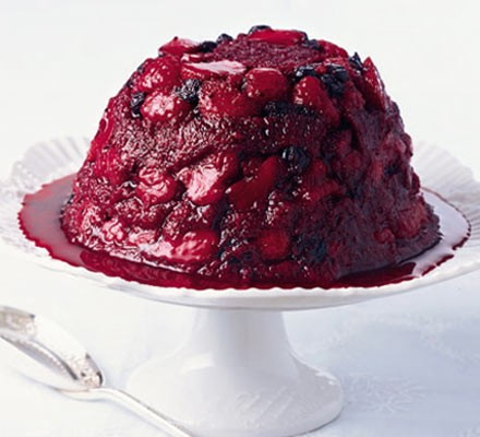 Angela's summer pudding