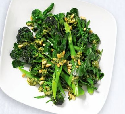 Herby broccoli