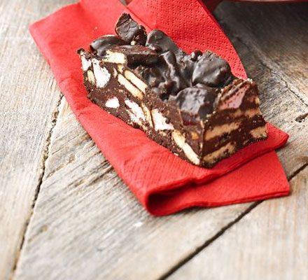 Chocolate crunch bars image