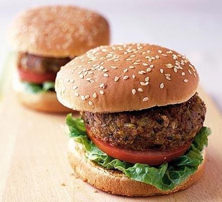 Cheesy veg burgers