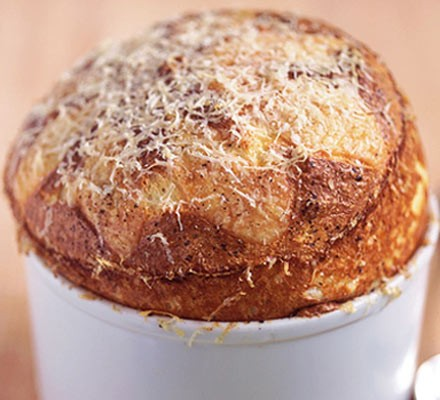 Classic cheese souffle