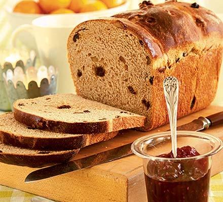 Christmas morning spiced bread