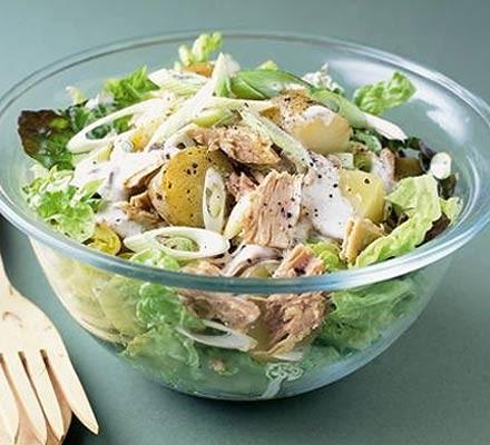 New potato & tuna salad