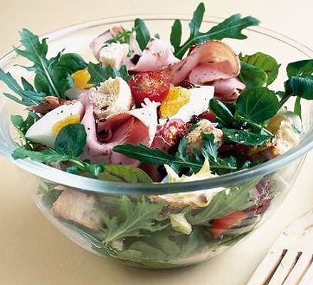 Speedy chef's salad
