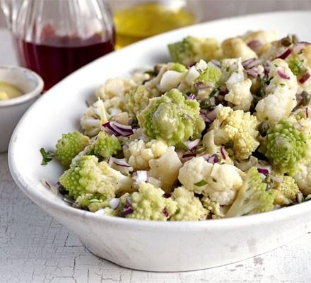 Cauliflower vinaigrette