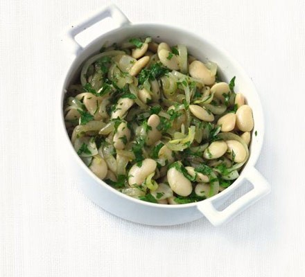 Lemon & parsley butter beans
