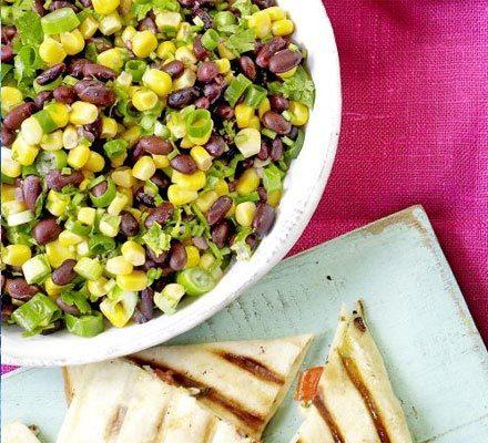 Corn & black bean salsa image