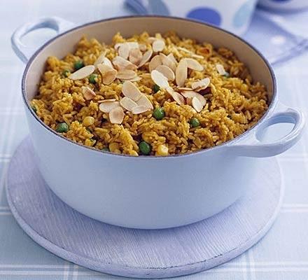 Nice 'n' spicy savoury rice