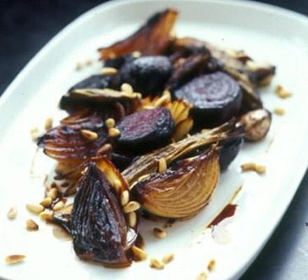 Beets, leeks & onions