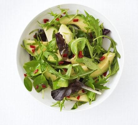Avocado & chilli salad