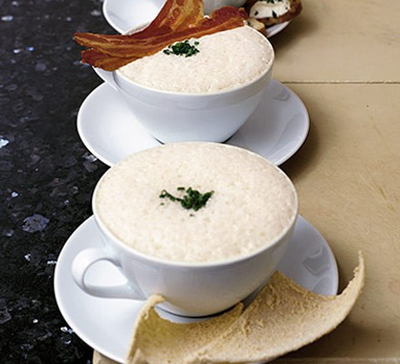 Cappuccino of white beans