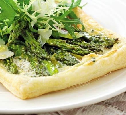 Asparagus & Parmesan pastries