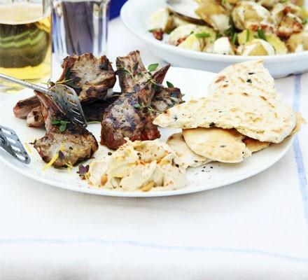 Greek-style lamb with lemon & thyme