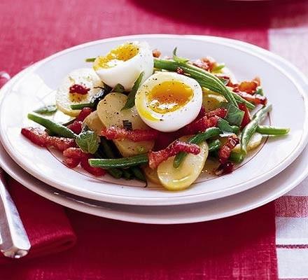 Green Bean Salad Recipe Egg