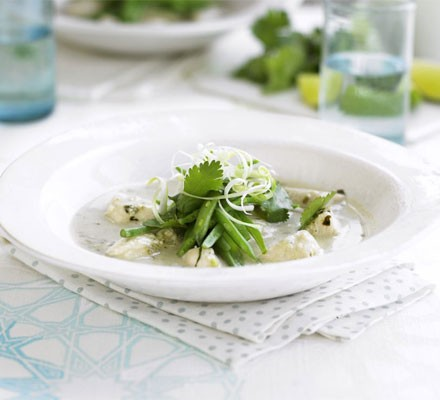 The ultimate makeover: Thai green chicken curry