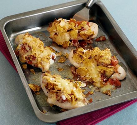 Chicken nacho grills