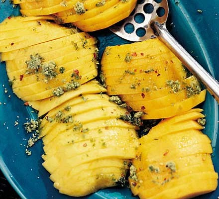 Mango with lime sugar
