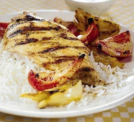 Spice & lime chicken