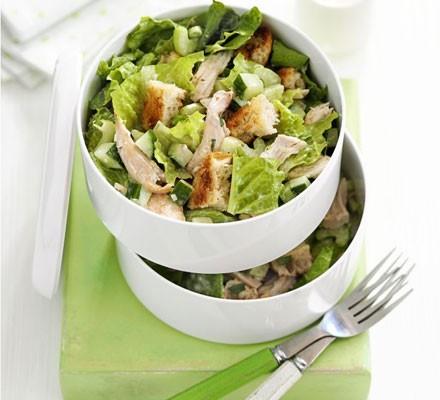 Big chicken & crouton salad