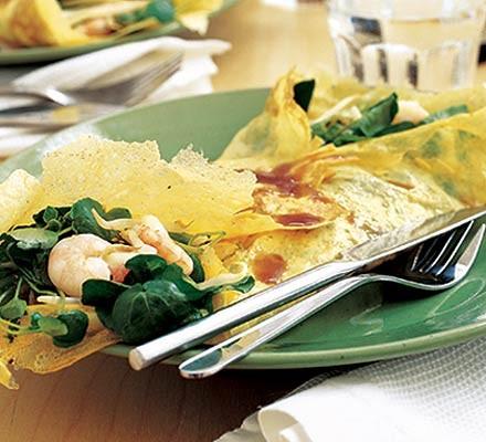 Jill's Asian omelette