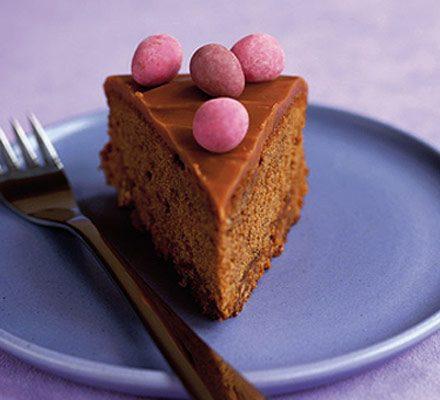 Chocca mocca caramel cake_image
