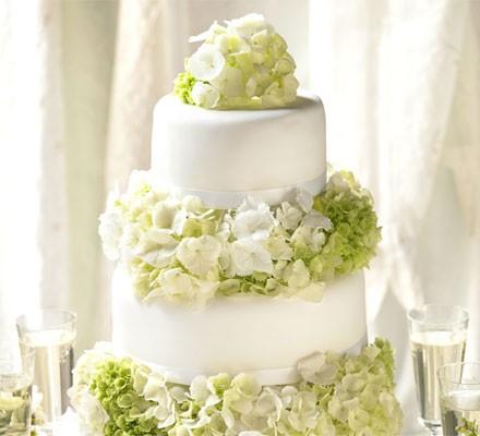 Simple Elegance Wedding Cake Recipe Bbc Good Food