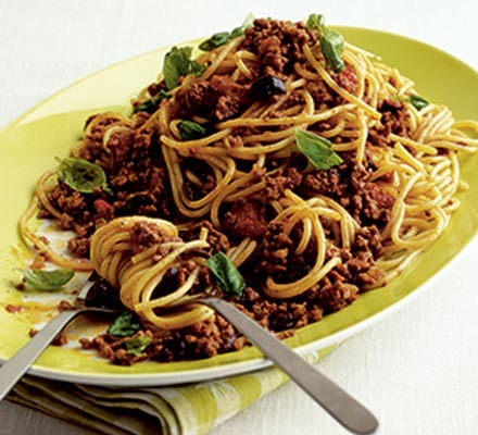 Bolognese with a difference