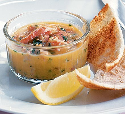 Spicy potted crab