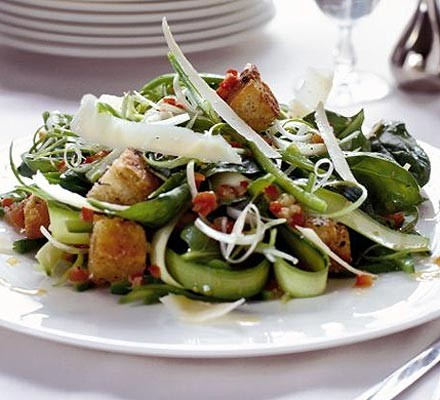 Late-summer green salad