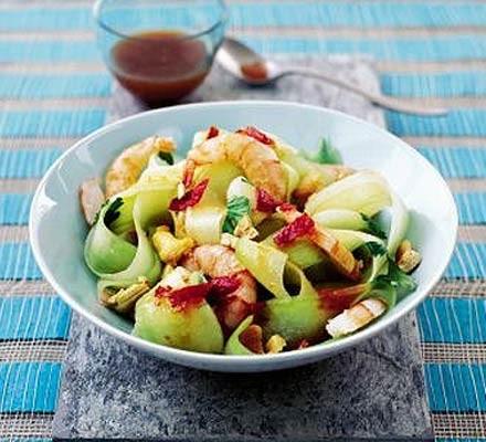 Prawn & cucumber salad