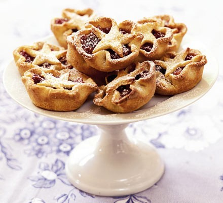 Jewelled mince pies