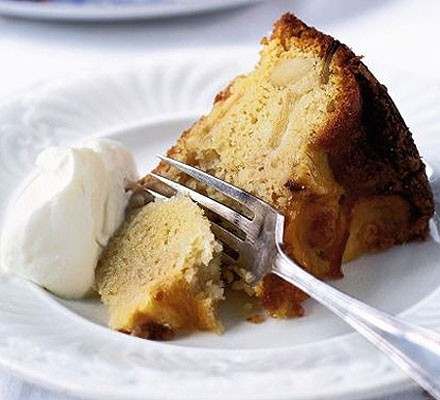 Somerset Pomona, apple & almond cake
