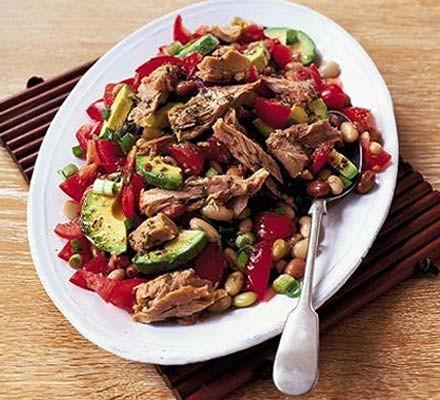 Mexican tuna & bean salad