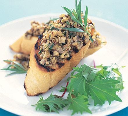 Mushroom & tarragon pâté