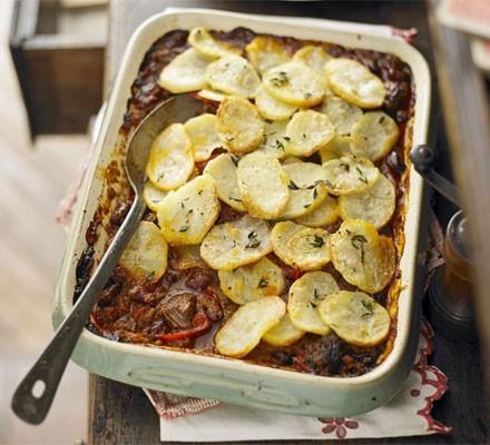 Cottage chilli hotpot