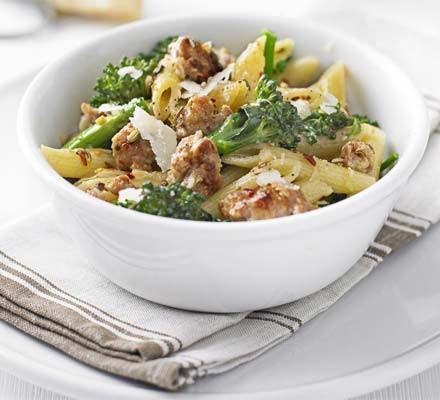 Sausage & broccoli pasta