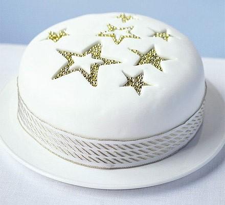 Star sparkle cake