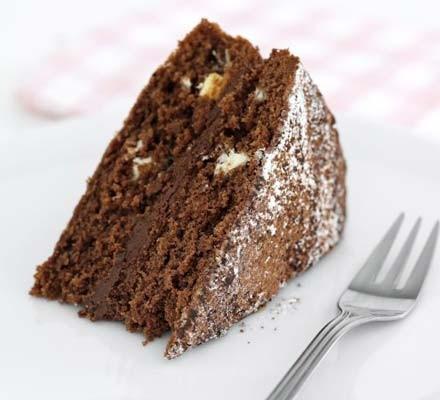 Very chocolatey cake